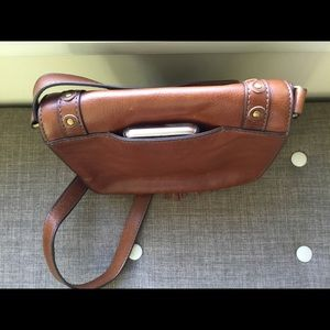 Fossil Bags - Fossil Emi Leather Crossbody Bag - fits iPhone 8!